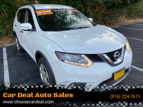 2015 Nissan Rogue for sale at Car Deal Auto Sales in Sacramento CA