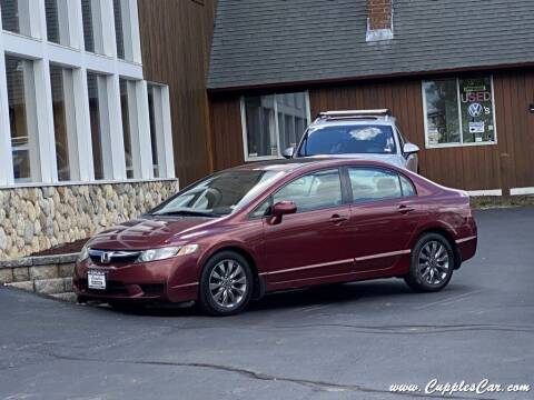 2010 Honda Civic for sale at Cupples Car Company in Belmont NH