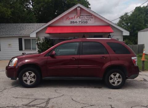 2007 Chevrolet Equinox for sale at PAUL'S PAINT & BODY SHOP in Des Moines IA