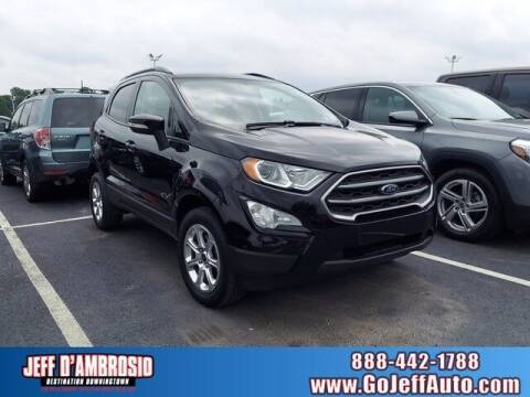 2018 Ford EcoSport for sale at Jeff D'Ambrosio Auto Group in Downingtown PA