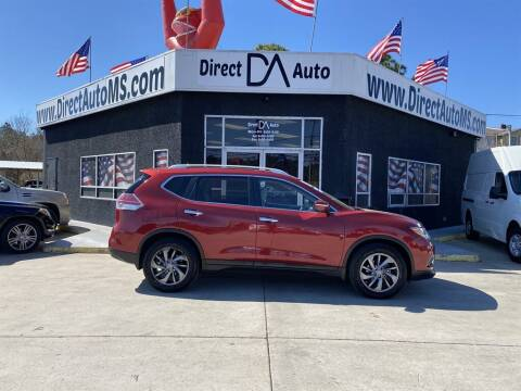 2015 Nissan Rogue for sale at Direct Auto in D'Iberville MS