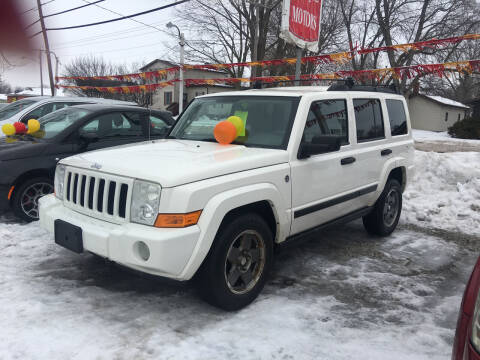 2006 Jeep Commander for sale at Antique Motors in Plymouth IN