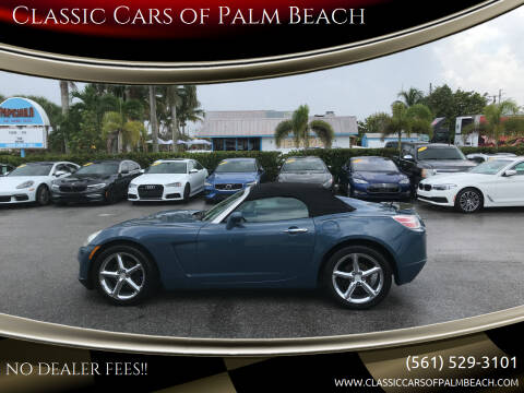 2007 Saturn SKY for sale at Classic Cars of Palm Beach in Jupiter FL