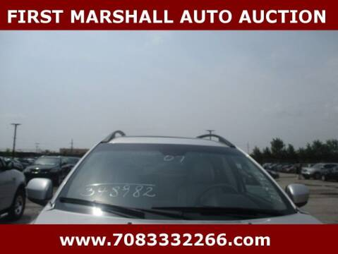 2007 Volvo XC90 for sale at First Marshall Auto Auction in Harvey IL