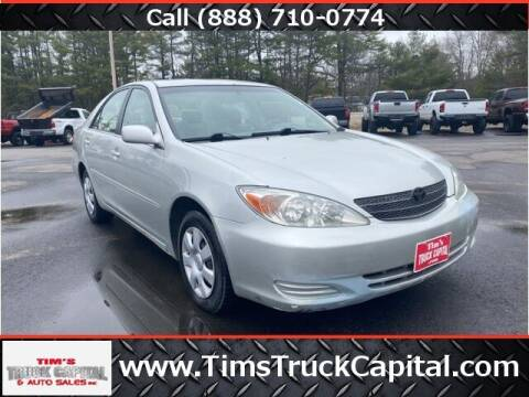 2003 Toyota Camry for sale at TTC AUTO OUTLET/TIM'S TRUCK CAPITAL & AUTO SALES INC ANNEX in Epsom NH
