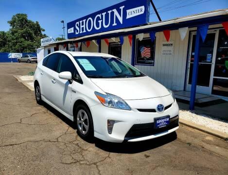 2013 Toyota Prius for sale at Shogun Auto Center in Hanford CA