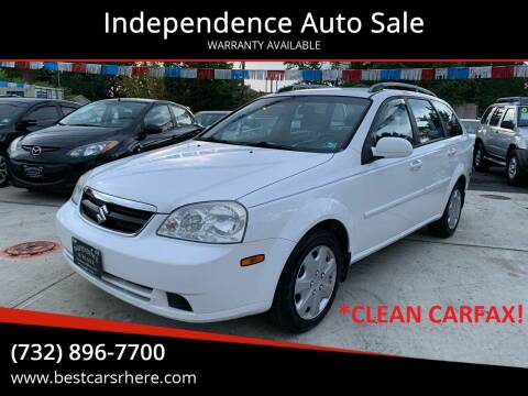 2007 Suzuki Forenza for sale at Independence Auto Sale in Bordentown NJ