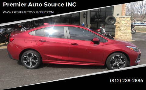 2019 Chevrolet Cruze for sale at Premier Auto Source INC in Terre Haute IN