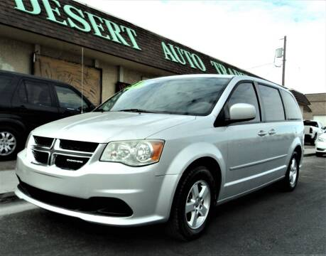 2011 Dodge Grand Caravan for sale at DESERT AUTO TRADER in Las Vegas NV
