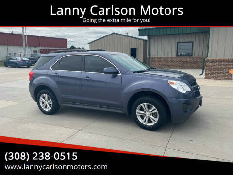2010 Chevrolet Equinox for sale at Lanny Carlson Motors in Kearney NE