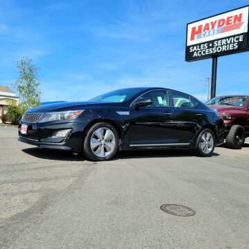 2014 Kia Optima Hybrid for sale at Hayden Cars in Coeur D Alene ID