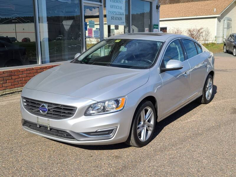 2015 Volvo S60 for sale at Green Cars Vermont in Montpelier VT