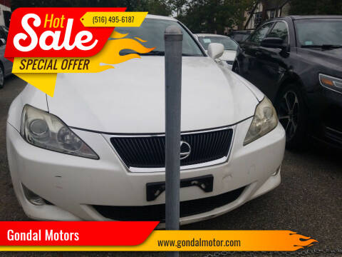 2007 Lexus IS 250 for sale at Gondal Motors in West Hempstead NY