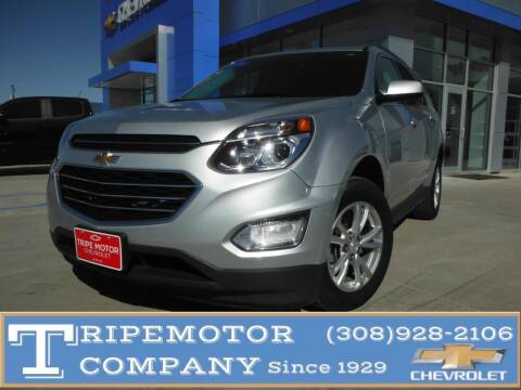 2017 Chevrolet Equinox for sale at Tripe Motor Company in Alma NE