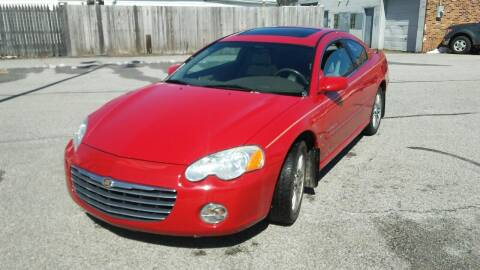 2005 Chrysler Sebring for sale at USA AUTO WHOLESALE LLC in Cleveland OH