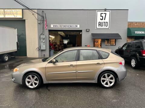 2008 Subaru Impreza for sale at 57 AUTO in Feeding Hills MA