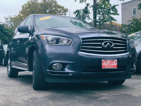 2013 Infiniti JX35 for sale at Buy Here Pay Here Auto Sales in Newark NJ