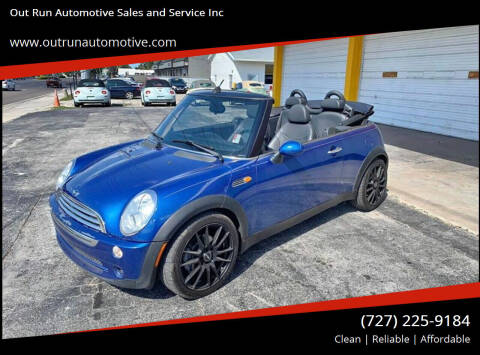 2005 MINI Cooper for sale at Out Run Automotive Sales and Service Inc in Tampa FL
