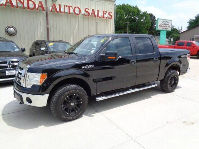 2012 Ford F-150 for sale at De Anda Auto Sales in Storm Lake IA