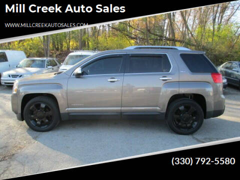 2012 GMC Terrain for sale at Mill Creek Auto Sales in Youngstown OH