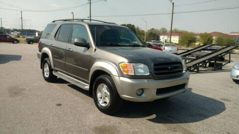2003 Toyota Sequoia for sale at Kelly & Kelly Supermarket of Cars in Fayetteville NC