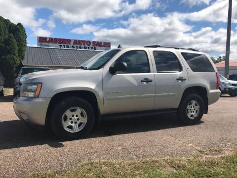 2007 Chevrolet Tahoe for sale at BLAESER AUTO LLC in Chippewa Falls WI