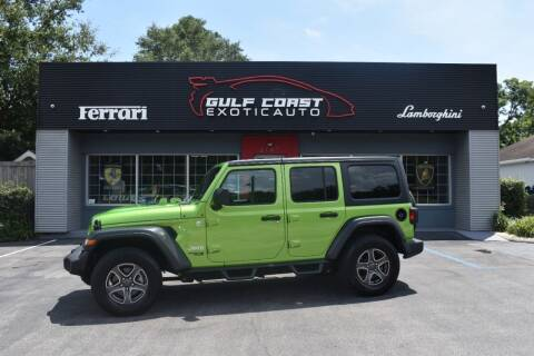 2018 Jeep Wrangler Unlimited for sale at Gulf Coast Exotic Auto in Biloxi MS