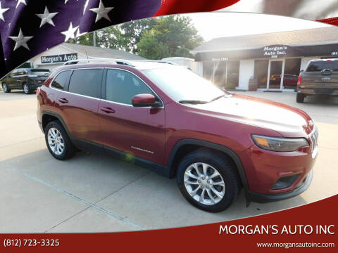 2019 Jeep Cherokee for sale at Morgan's Auto Inc in Paoli IN