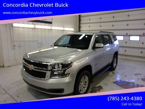 2017 Chevrolet Tahoe for sale at Concordia Chevrolet Buick in Concordia KS