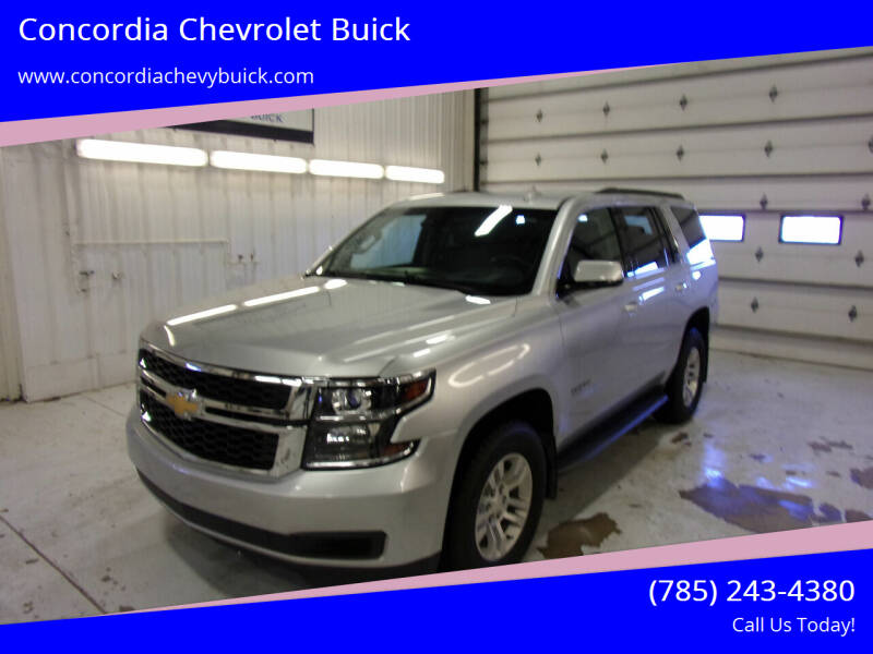 2017 Chevrolet Tahoe for sale at Concordia Chevrolet Buick in Concordia KS