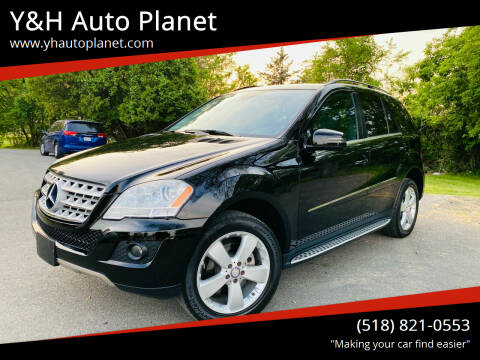 2011 Mercedes-Benz M-Class for sale at Y&H Auto Planet in West Sand Lake NY
