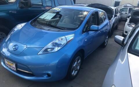 2011 Nissan LEAF for sale at Excelsior Motors , Inc in San Francisco CA