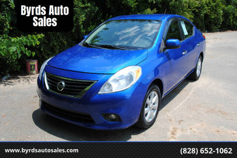 2013 Nissan Versa for sale at Byrds Auto Sales in Marion NC