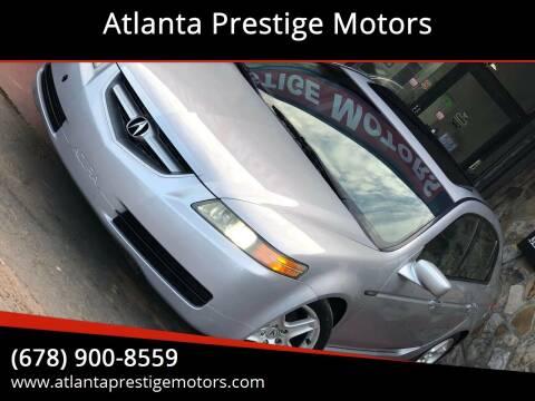 2005 Acura TL for sale at Atlanta Prestige Motors in Decatur GA