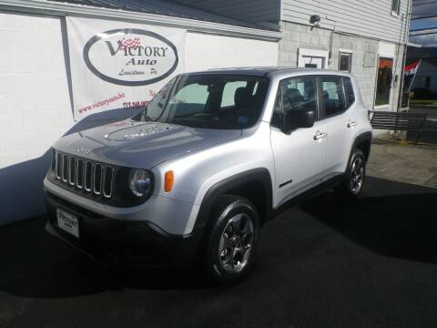 2016 Jeep Renegade for sale at VICTORY AUTO in Lewistown PA