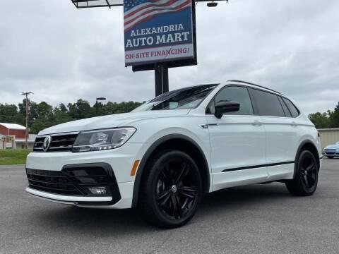 2019 Volkswagen Tiguan for sale at Alexandria Auto Mart LLC in Alexandria PA
