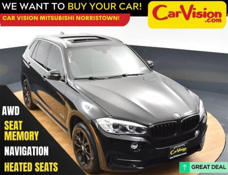 2018 BMW X5 for sale at Car Vision Mitsubishi Norristown in Norristown PA