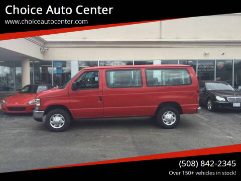 2011 Ford E-Series Wagon for sale at Choice Auto Center in Shrewsbury MA