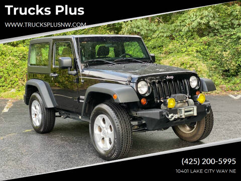 2013 Jeep Wrangler for sale at Trucks Plus in Seattle WA
