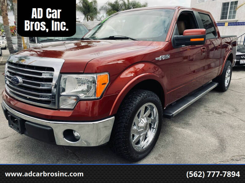 2014 Ford F-150 for sale at AD Car Bros, Inc. in Whittier CA