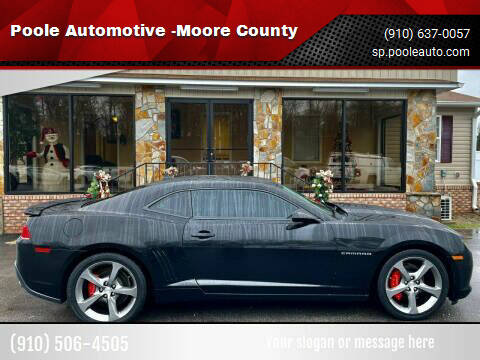 2014 Chevrolet Camaro for sale at Poole Automotive in Laurinburg NC