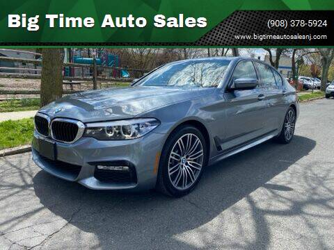 2018 BMW 5 Series for sale at Big Time Auto Sales in Vauxhall NJ