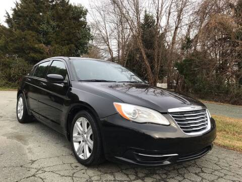 2013 Chrysler 200 for sale at Pristine AutoPlex in Burlington NC