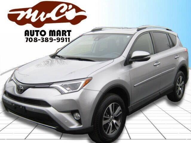2018 Toyota RAV4 for sale at Mr.C's AutoMart in Midlothian IL