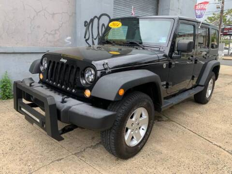 2014 Jeep Wrangler Unlimited for sale at Buy Here Pay Here Auto Sales in Newark NJ