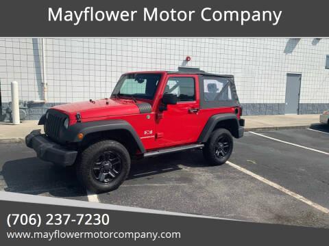 2009 Jeep Wrangler for sale at Mayflower Motor Company in Rome GA