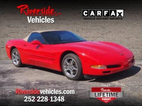 2002 Chevrolet Corvette for sale at Riverside Mitsubishi(New Bern Auto Mart) in New Bern NC