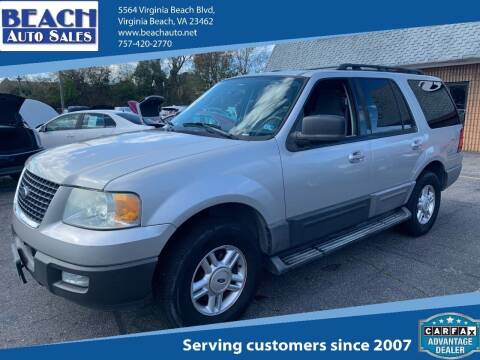 2006 Ford Expedition for sale at Beach Auto Sales in Virginia Beach VA