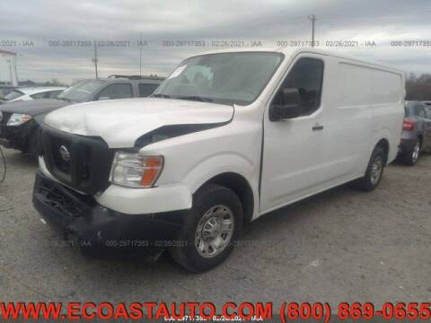 2016 Nissan NV Cargo for sale at East Coast Auto Source Inc. in Bedford VA