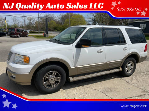 2004 Ford Expedition for sale at NJ Quality Auto Sales LLC in Richmond IL